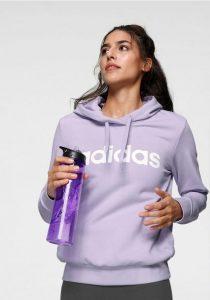 Adidas hoody paars